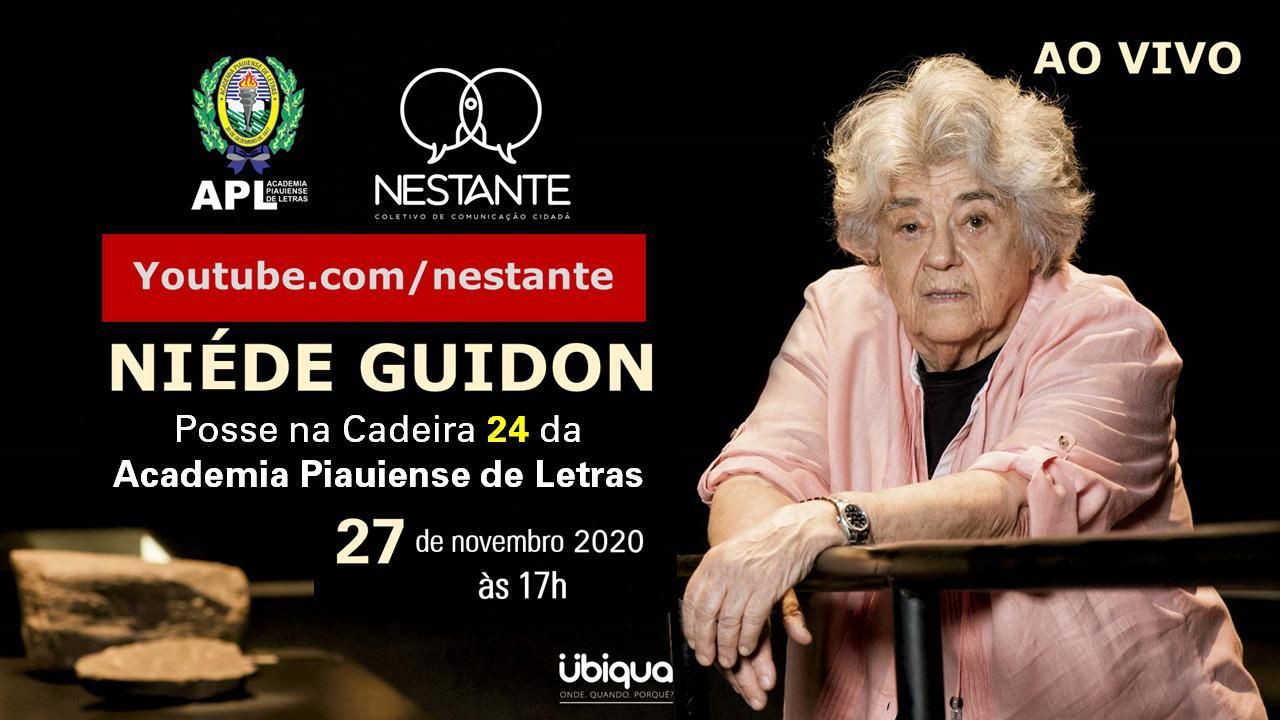 Niède Guidon - Posse na Academia Piauiense de Letras